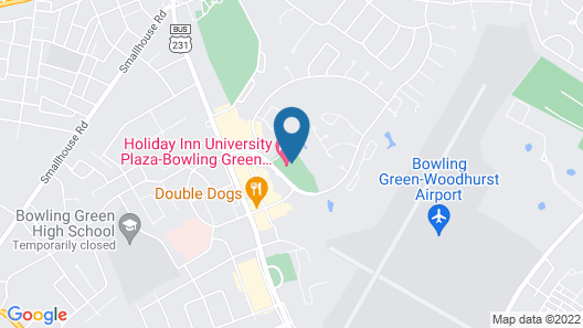 Holiday Inn University Plaza-Bowling Green Map