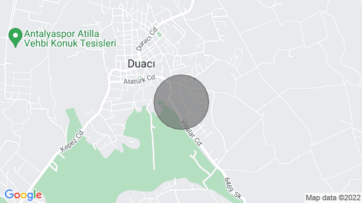Antalya Villa Luxe Avec Piscine Sans vis a vis Map