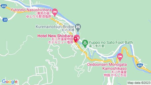 Hotel New Shiobara Map