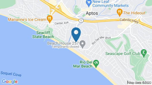 Rio Sands Hotel Map