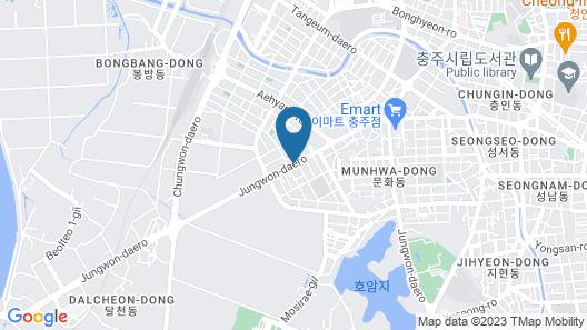 Chungju Grand Hotel Map