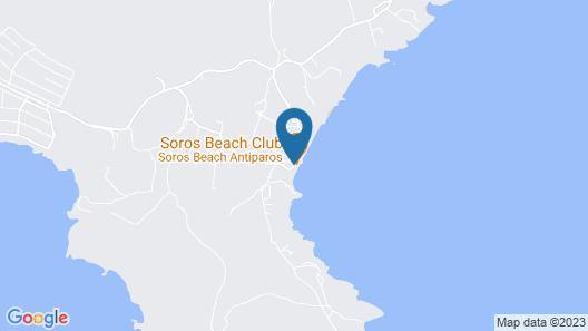 Soros Beach Map