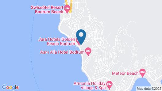 Golden Beach Bodrum By Jura - All Inclusive Map