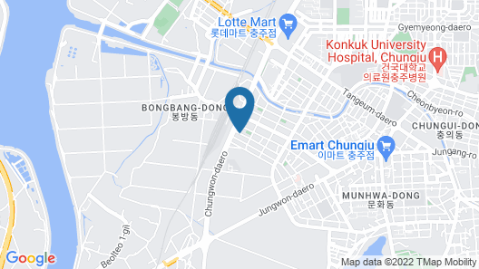 Ora Motel Chungju Map