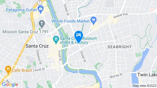 Best Western Plus All Suites Inn Map