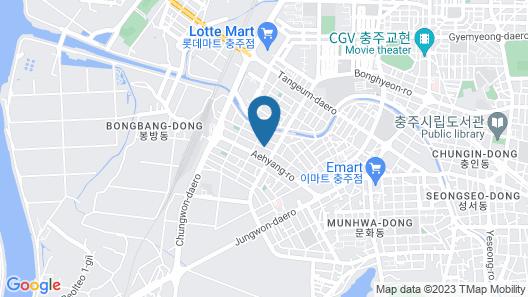 K Motel Map