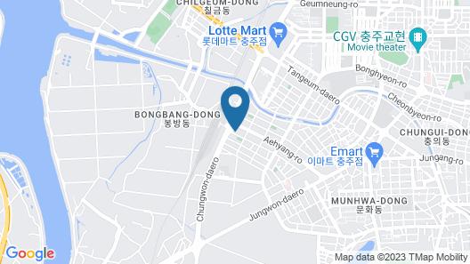BrownDot Hotel Chungju Station Map