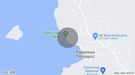 One Bedroom Apartment in Platy Gialos Map
