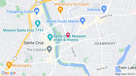 Oceana Inn Map