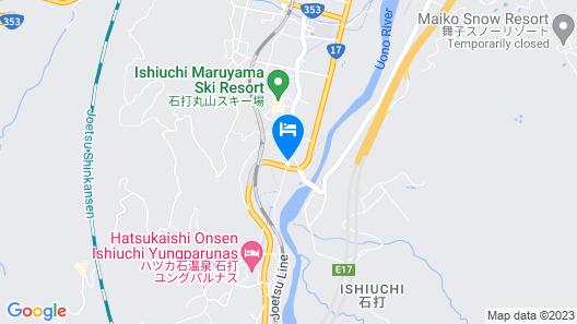 Belle Vue Nishiura Map