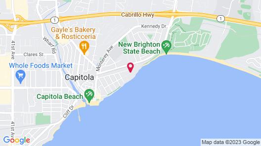 Monarch Cove Inn Map