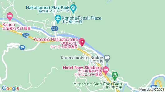 Nasushiobara Bettei Map