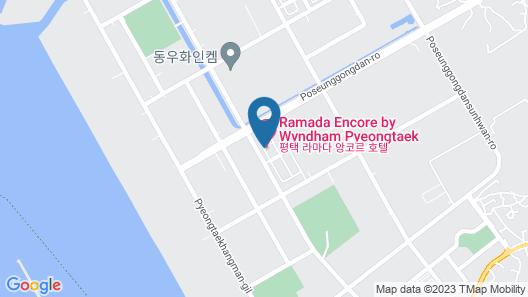 Ramada Encore Pyeongtaek Map