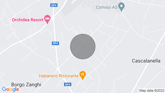 5 bedroom accommodation in Comiso RG Map