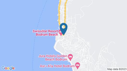 Swissotel Resort Bodrum Beach Map
