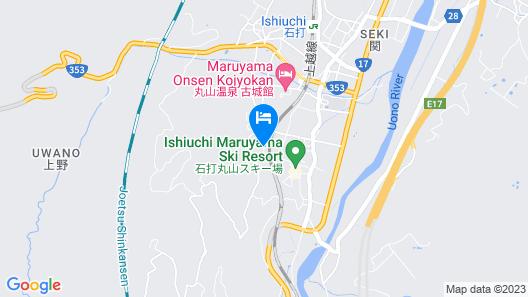 Hotel Elm Ishiuchi Map