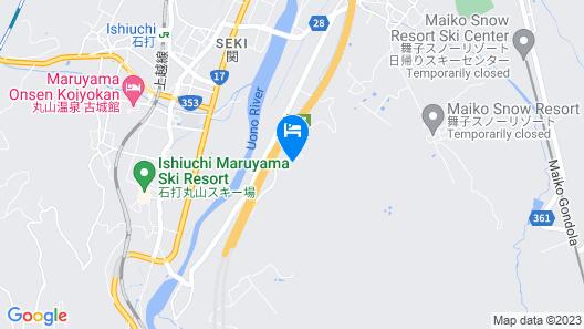Shiozawa Edogawaso Map