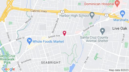 Hitching Post Studios Inn Map