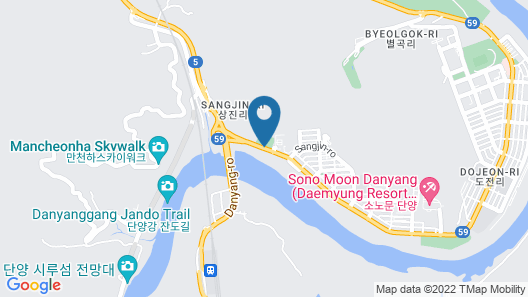 Danyang Tourist Hotel Edelweiss Map