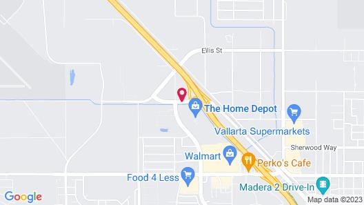 Holiday Inn Express Madera - Yosemite Park Area, an IHG Hotel Map