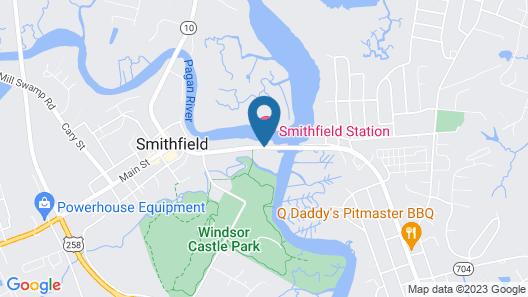 Smithfield Station Map