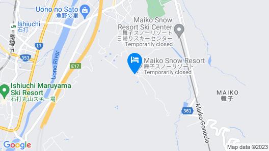 Maiko Kogen Hotel Map