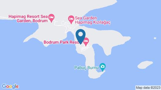 Bodrum Park Resort - All Inclusive Map