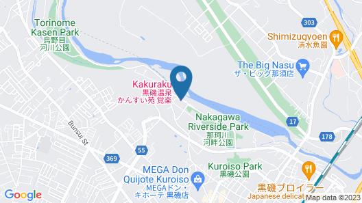 Kansui-en Kakuraku  Map