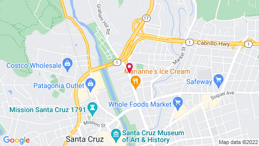 Holiday Inn Express Hotel & Suites Santa Cruz, an IHG Hotel Map