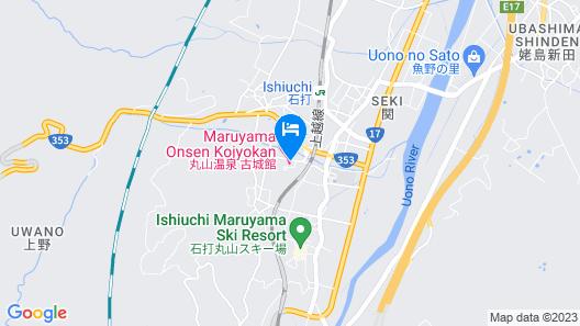 Maruyama Onsen Kojyokan Map