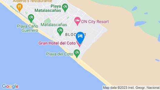 Gran Hotel del Coto Map