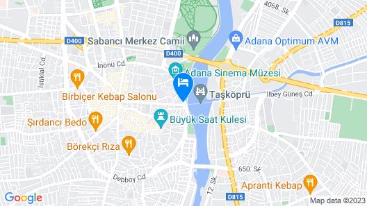Taşköprü Hotel Map