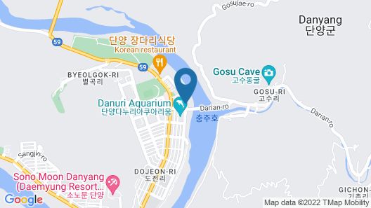 Danyang Riverside Hotel Map