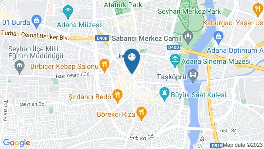Otel Senbayrak City Map