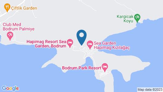Hapimag Resort Sea Garden - All Inclusive Map