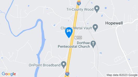 Hampton Inn Corbin KY Map