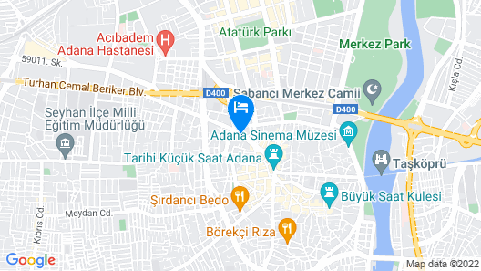 Surmeli Adana Hotel Map