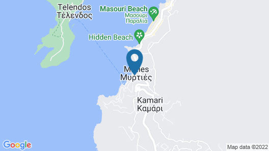 H Hotel Kalypso Map