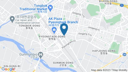 Pyeongtaek Belle Hotel Map