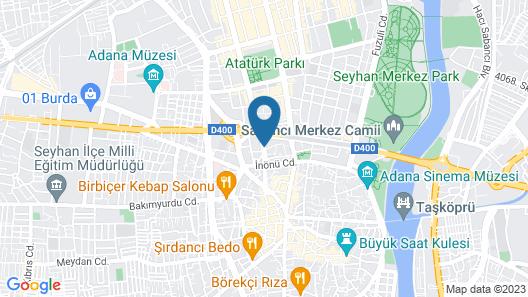 Otel Cavusoglu Map