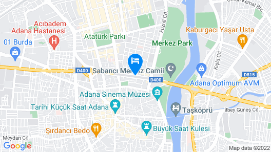 Hotel Seyhan Map