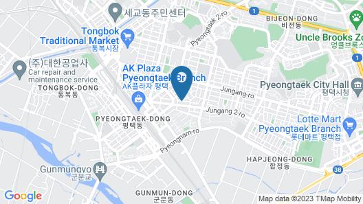 Pyeongtaek Tiffany Hotel Map