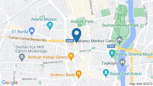 ibis Adana Map