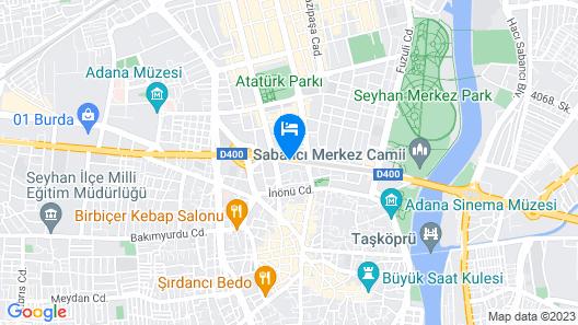 Divan Adana Map
