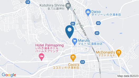 Harukaze no Yado Map