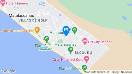 Hostal Manolo Matalascañas Map