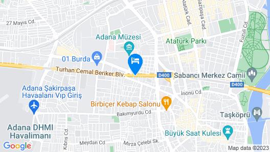 Sedef Otel Map