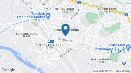 Pyeongtaek Seville Hotel Map