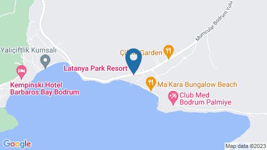 Latanya Park Resort - All Inclusive Map