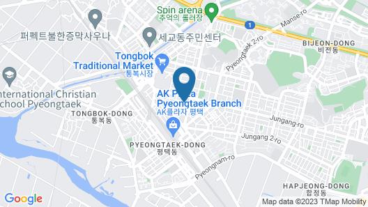 Pyeongtaek Stay Hotel 2 Map